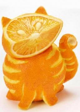 آموزش تزیین پرتقال