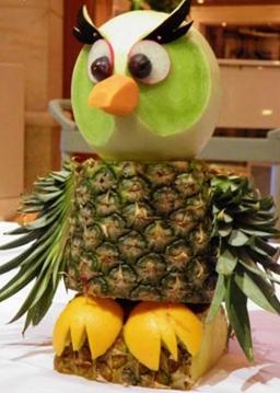 آموزش تزیین آناناس