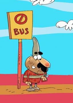 تابلو اتوبوس